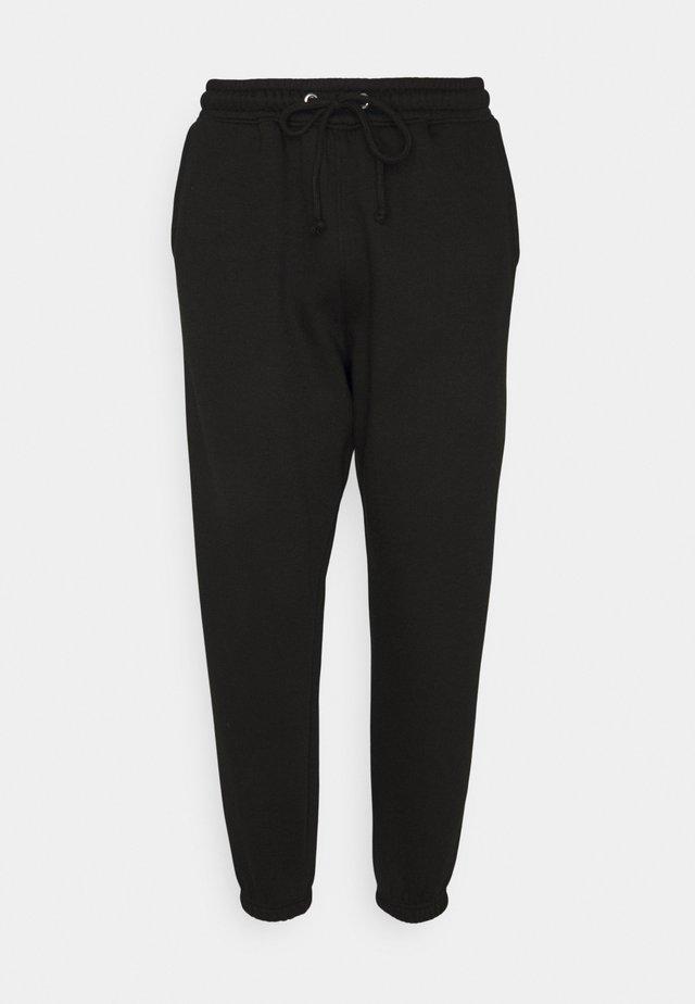 90S JOGGERS - Tracksuit bottoms - black
