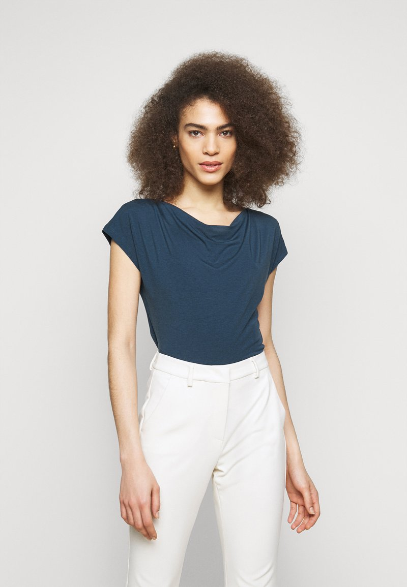 WEEKEND MaxMara - MULTID - Basic T-shirt - blue