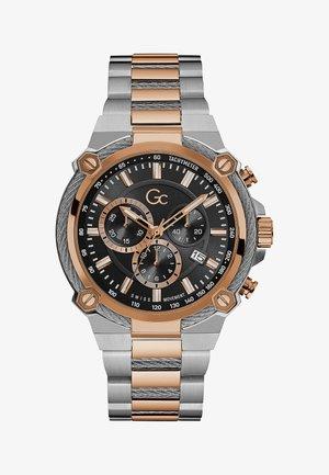 Horloge - silver rose gold
