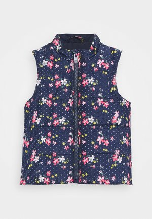TODDLER GIRL PUFFER VEST - Chaleco - navy