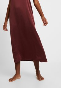 ASCENO - LONG SLIP DRESS - Nightie - rust - 5