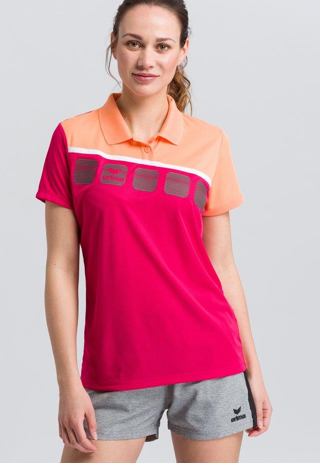 Sports shirt - pink/white