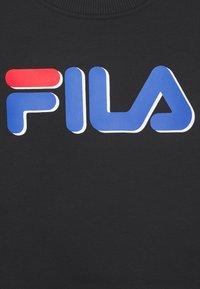Fila - DIEGO TAPED LOGO CREW - Sweater - black/true red - 2