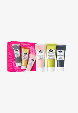 MASK AND GO TRIO SET - Huidverzorgingsset - -