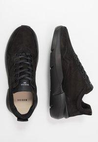Nubikk - ELVEN TANUKI - Sneakers basse - black raven - 1