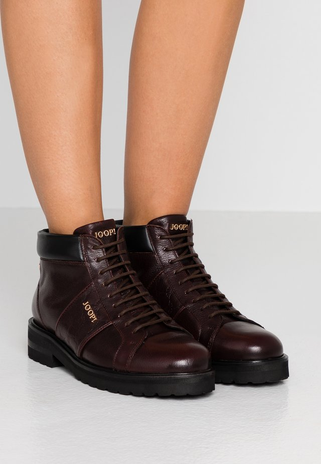 MARIA - Ankle boots - dark brown