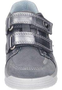 Ricosta - Touch-strap shoes - graphit/grau/himmel - 4