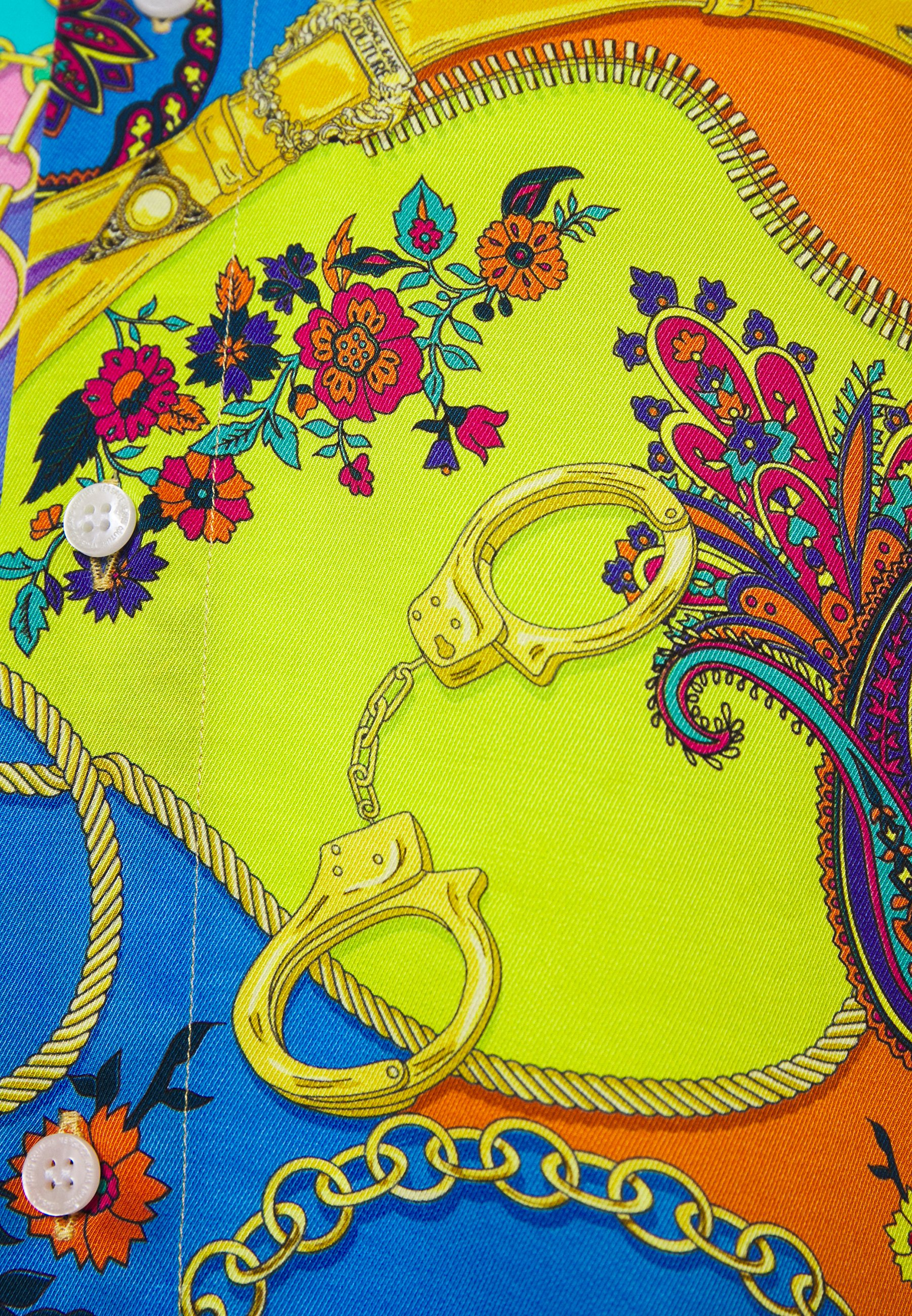 Komfortabel Versace Jeans Couture PRINT BELT PAISLEY  Skjorter  multi coloured hh06E