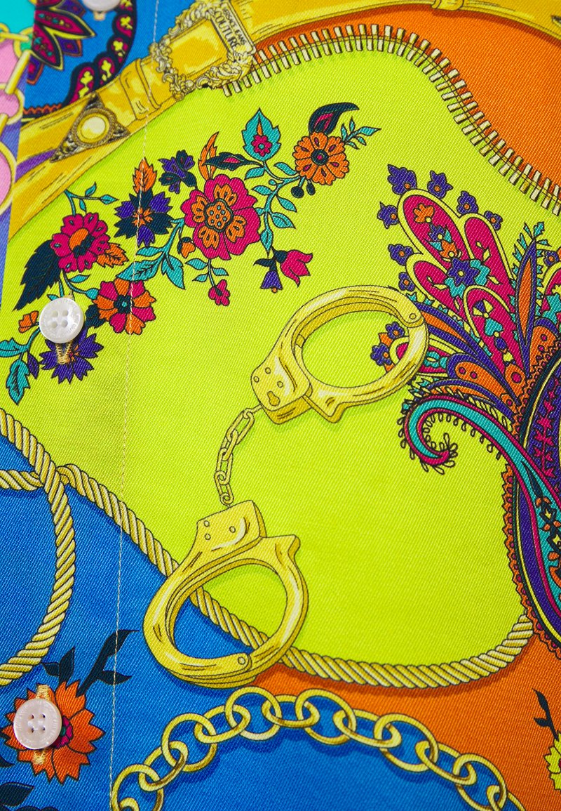 Versace Jeans Couture PRINT BELT PAISLEY - Hemd - multi coloured/mehrfarbig iuFXcG
