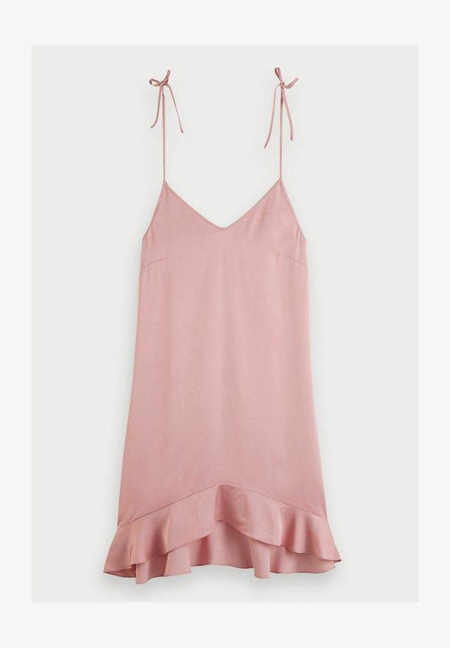 Korte jurk - petal pink