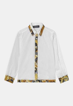 INFORMAL BAROCCO FLAGE - Shirt - bianco/oro