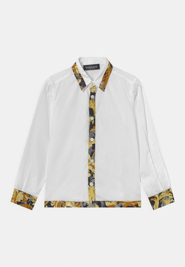INFORMAL BAROCCO FLAGE - Camicia - bianco/oro