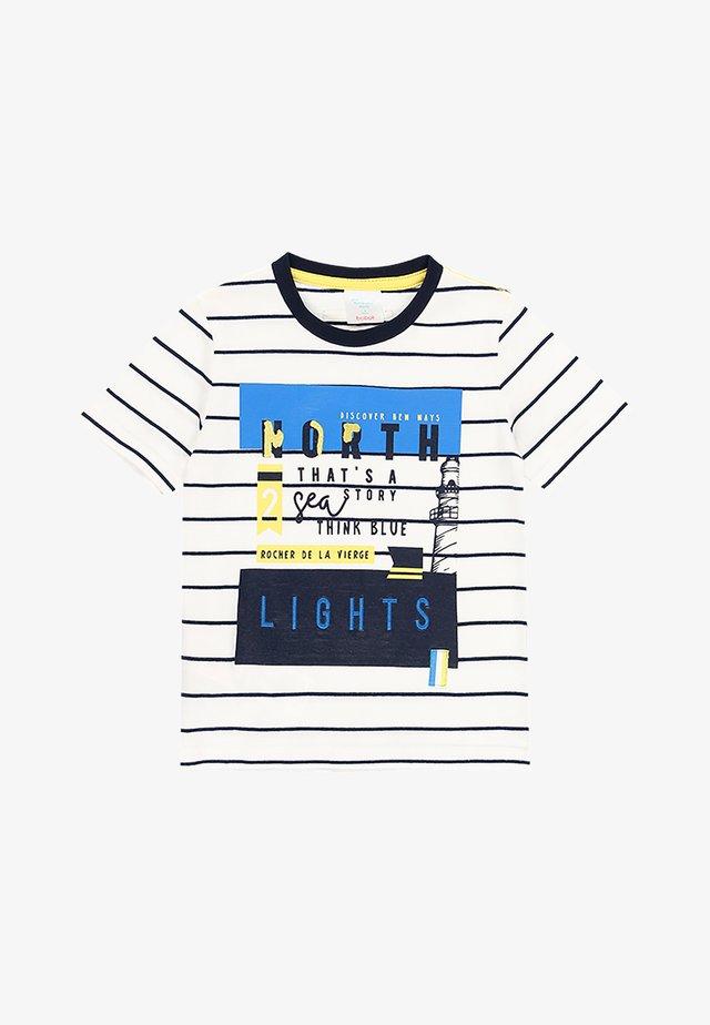 T-shirt imprimé - stripes