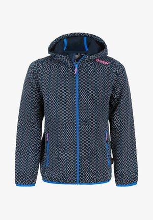 Fleece jacket -  navy blazer