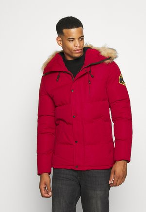 OSHAWA PADDED - Winter jacket - red