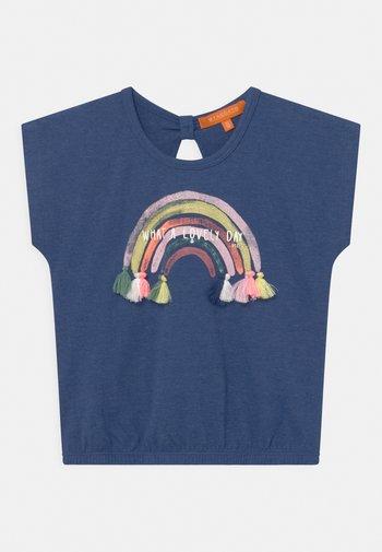 T-shirt print - dark blue