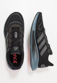 adidas Performance - GALAXAR RUN - Zapatillas de running neutras - core black/blue - 1
