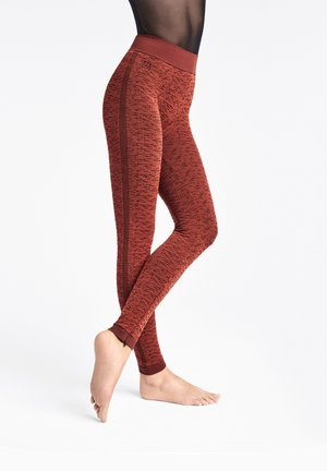 ARROW POISON - Legging - red rust/black