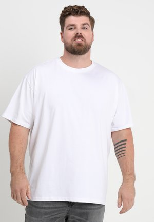 HEAVY OVERSIZED TEE  - T-shirt basic - white