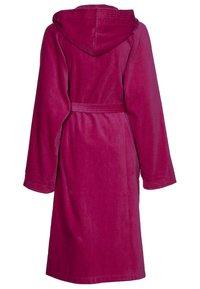 Vossen - TEXAS - Dressing gown - cranberry - 1