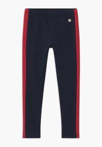Champion - LEGACY CREWNECK SUIT SET - Dres - dark red - 2