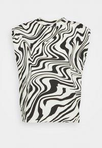 sandro - KERRY - Print T-shirt - ecru - 3