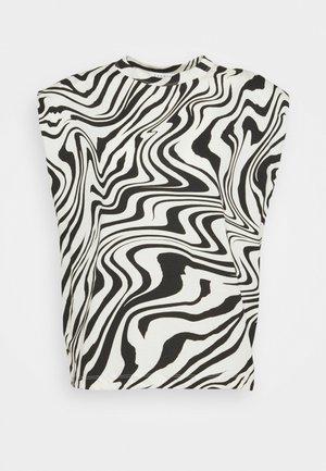 KERRY - T-shirt z nadrukiem - ecru