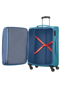 American Tourister - HOLIDAY HEAT - Wheeled suitcase - denim blue - 2
