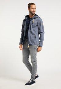 Schmuddelwedda - Waterproof jacket - marine melange - 1