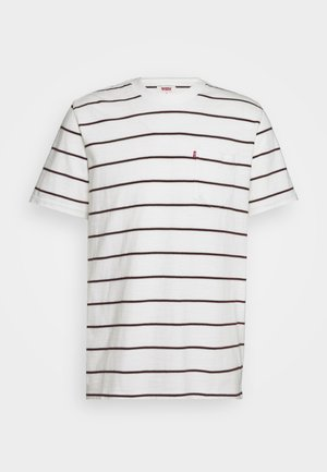 SUNSET POCKET TEE - T-shirt med print - saturday stripe tofu