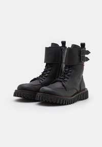 Kickers - AKROPOL - Lace-up ankle boots - noir - 1