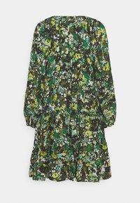 Marc O'Polo PURE - DRESS CASCADES - Day dress - green - 1