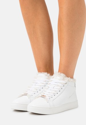 CUPSOLE HIGH TOP - Lace-up ankle boots - triple white