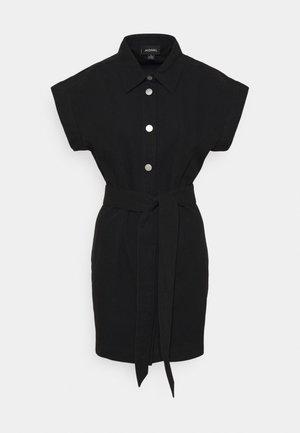 LINN DRESS - Skjortklänning - black dark