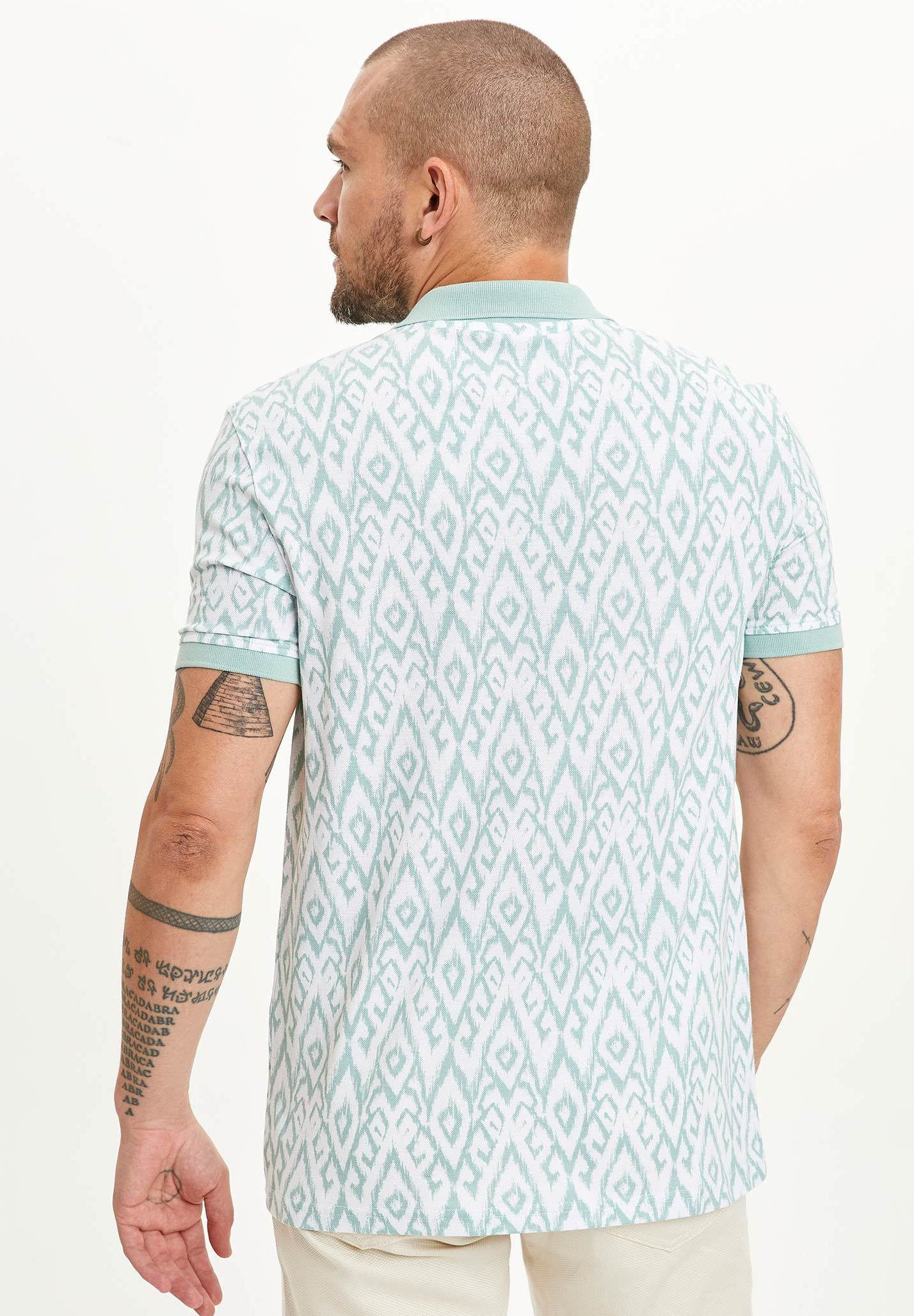 DeFacto Polo shirt - turquoise NffM3