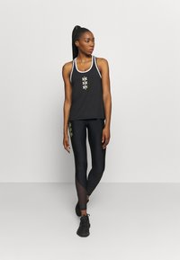 Under Armour - KNOCKOUT TANK - Funktionsshirt - black - 1