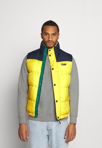 Tommy Jeans - CORP VEST - Waistcoat - valley yellow - 0