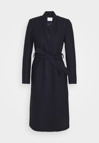 IVY & OAK - DOUBLE COLLAR COAT - Zimní kabát - navy blue - 4