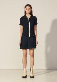 sandro - ALBERTA - Shirt dress - marine - 0