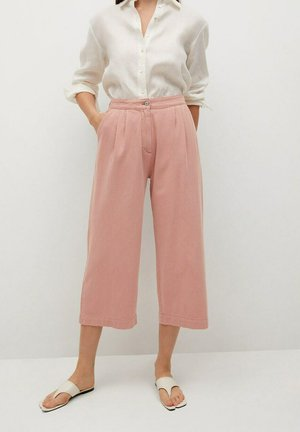 RUSTIC - Spodnie materiałowe - roze