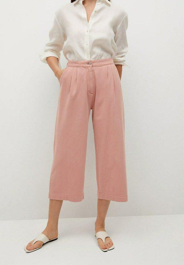 RUSTIC - Trousers - roze
