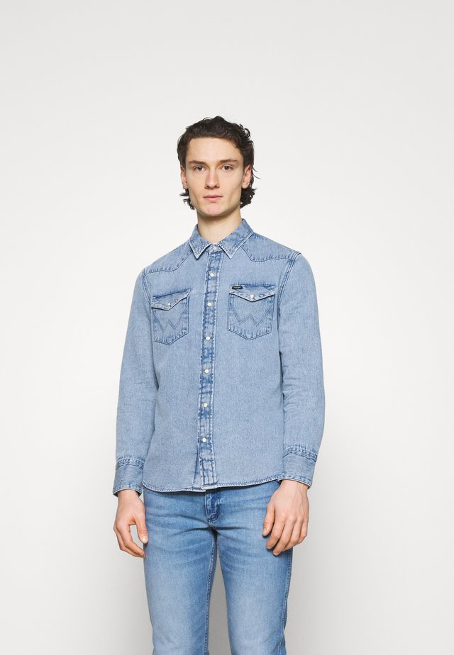 Chemise - light-blue denim