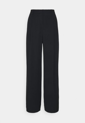 STACEY TROUSER - Kalhoty - black