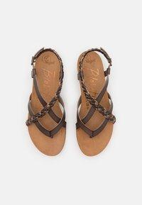 Blowfish Malibu - T-bar sandals - tobacco/multicolor - 5