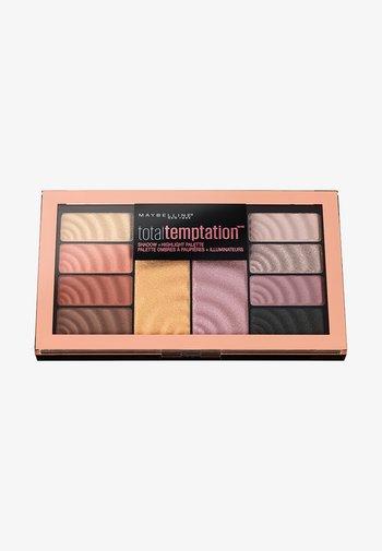 TOTAL TEMPTATION PALETTE - Eyeshadow palette - 01