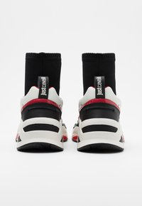Just Cavalli - High-top trainers - black/white/red - 2