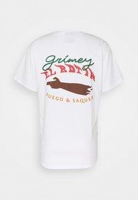 Grimey - EL BOTIN TEE UNISEX - Triko spotiskem - white - 1