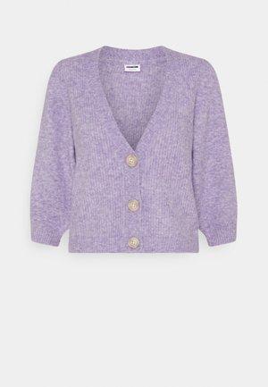 NMLILJE V NECK CARDIGAN - Strikjakke /Cardigans - pastel lilac