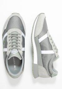 Lacoste - PARTNER  - Sneaker low - grey/white - 3