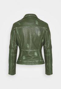 Ibana - FREYA - Leather jacket - dark green - 1